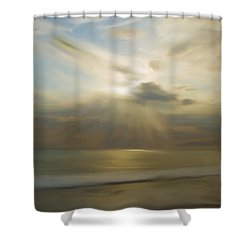 Seek And You Shall Find Shower Curtain by Liane Wright