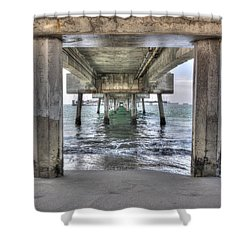 Seeking Shelter From The Sun Shower Curtain by Heidi Smith