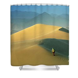 Seeking Solitude  Shower Curtain by Bob Christopher