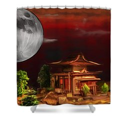 Seeking Wisdom Shower Curtain