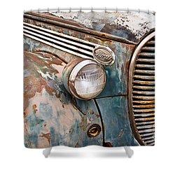 Seen Better Days Shower Curtain by David Lawson