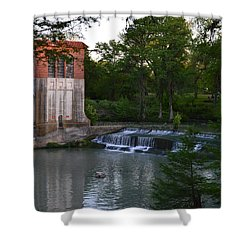 Seguin Tx 03 Shower Curtain by Shawn Marlow