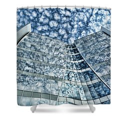 Shower Curtain featuring the photograph Seidman Cancer Center - Cleveland Ohio - 1 by Mark Madere