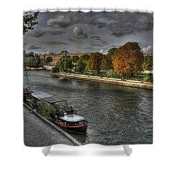 Seine Study Number One Shower Curtain