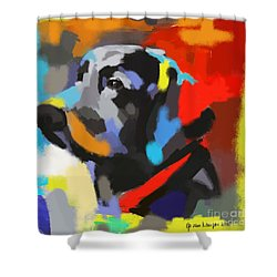 Dog Sem Shower Curtain