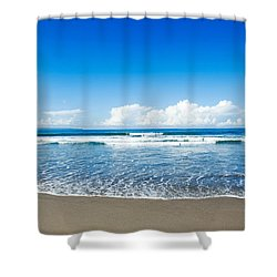 Seminyak Beach Shower Curtain by Yew Kwang