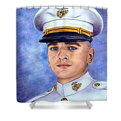 Semper Fi Shower Curtain