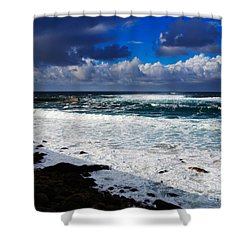 Sennen Cove In Cornwall Shower Curtain by Louise Heusinkveld