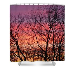 Sensational Sunrise Marching In Shower Curtain