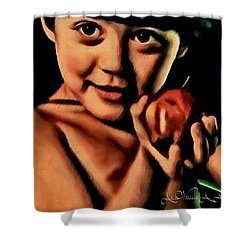 Sense Of Innocence  Shower Curtain