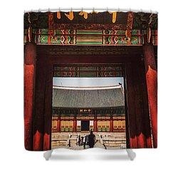 Seoul, South Korea Shower Curtain