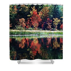 September Color Shower Curtain by Joy Nichols