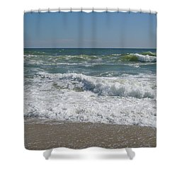 September Drama Shower Curtain