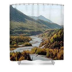 September Morning In Alaska Shower Curtain