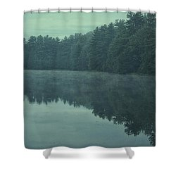September Reflection Shower Curtain by Karol Livote