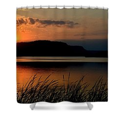 September Sunset Shower Curtain