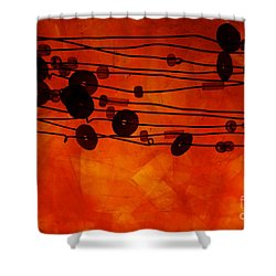 Sequence And Wire Shower Curtain