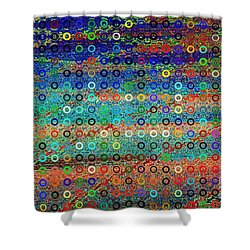 Sequins Shower Curtain