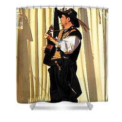 Serenade Shower Curtain by Rodney Lee Williams