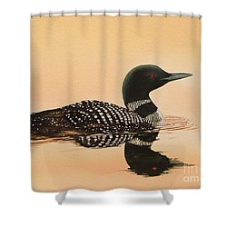 Serene Beauty Shower Curtain