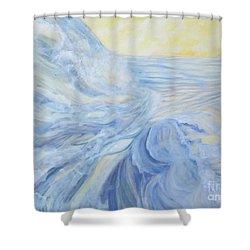 Serene Scene Shower Curtain