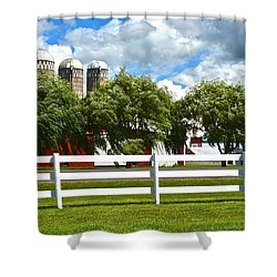 Serene Surroundings Shower Curtain by Frozen in Time Fine Art Photography