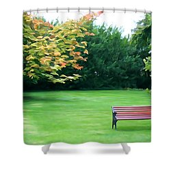 Shower Curtain featuring the photograph Serenity by Charlie and Norma Brock