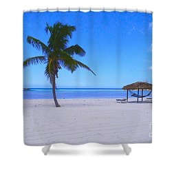 Serenity Shower Curtain by Carey Chen