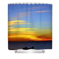 Serenity Shower Curtain by Faith Williams