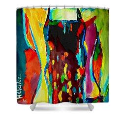 Serenity Shower Curtain by Helena Wierzbicki