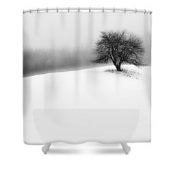 Serenity Shower Curtain by John Vose