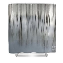 Serenity  Shower Curtain by Michelle Twohig