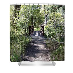 Serenity Shower Curtain by Sheri Keith