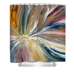 Serenity Shower Curtain by Teresa Wegrzyn
