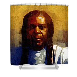 Seriously Now... Shower Curtain by RC deWinter