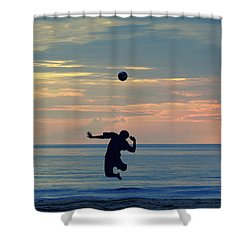 Serve's Still Up.. Shower Curtain by A Rey