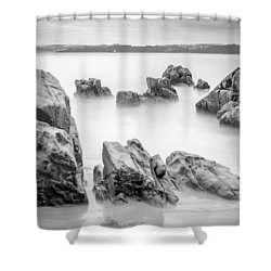 Shower Curtain featuring the photograph Seselle Beach Galicia Spain by Pablo Avanzini