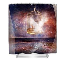 Set Free Shower Curtain