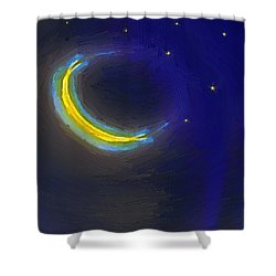 Seven Stars And The Moon Shower Curtain