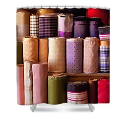 Sewing - Fabric  Shower Curtain by Mike Savad