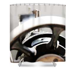 Sewing Machine 3 Shower Curtain