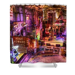 Shackup Inn Stage Shower Curtain