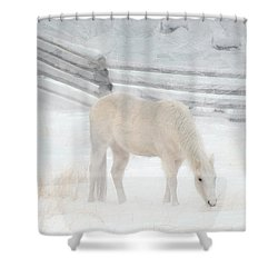 Shades Of Pale Shower Curtain