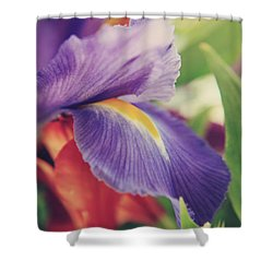 Shades Of You And Me Shower Curtain by Laurie Search