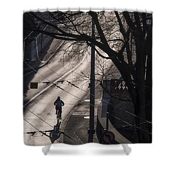 Shadow And Light Shower Curtain
