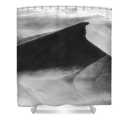 Shadow On The Land Shower Curtain