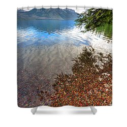 Shadow Pebbles Shower Curtain