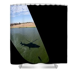 Shadow Rescue  Shower Curtain by Paul Job