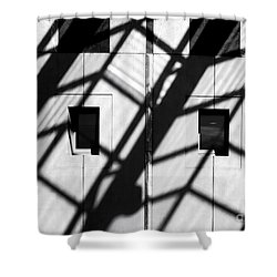 Shadows Canberra Shower Curtain by Steven Ralser
