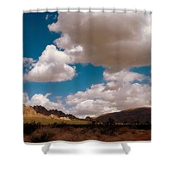 Shadows In The Valley Shower Curtain by Glenn McCarthy Art and Photography